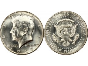 US half dollar J.F. Kennedy 1967
